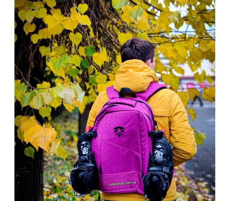 Рюкзак для роликов Flying Eagle Movement Backpack розовый popup_3