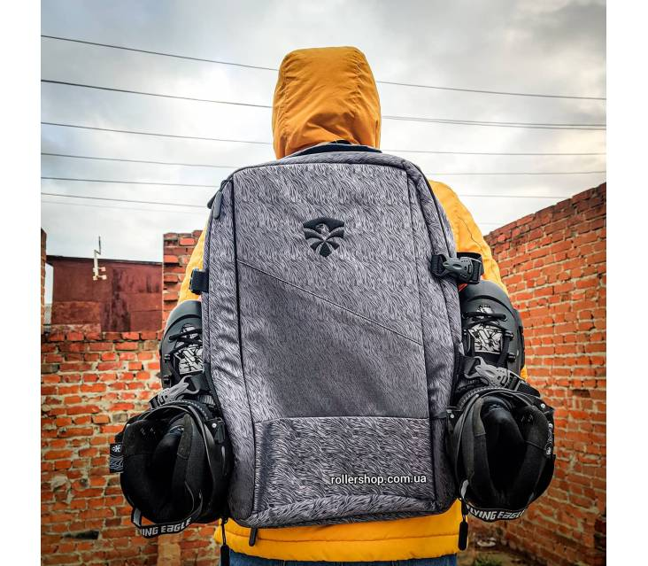 Рюкзак для роликов Flying Eagle Movement Backpack Big серый popup_4