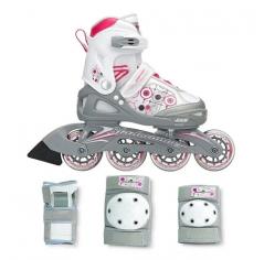 Дитячі ролики Rollerblade Bladerunner G з комплектом захисту