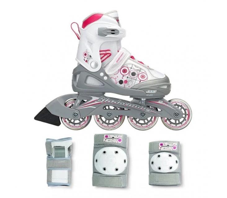 Дитячі ролики Rollerblade Bladerunner G з комплектом захисту popup