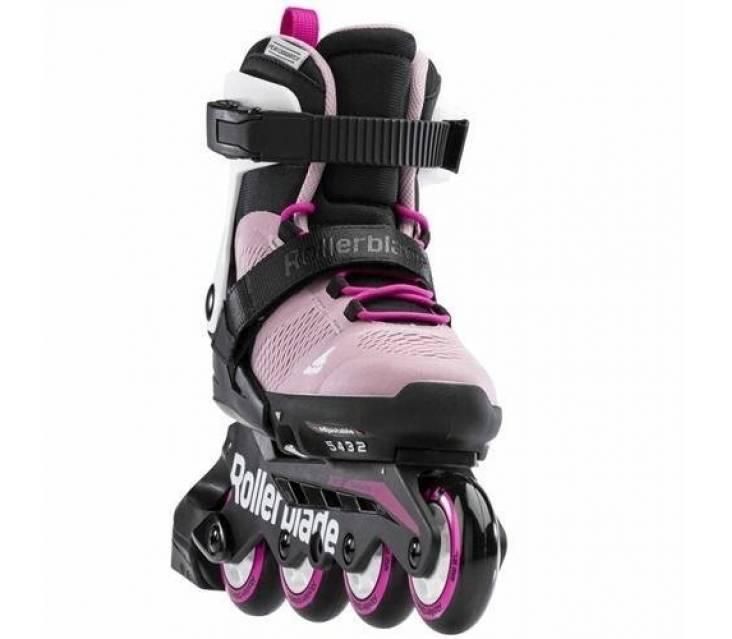 Детские ролики Rollerblade Microblade G Rosa Blanco 2021 розовые popup_0