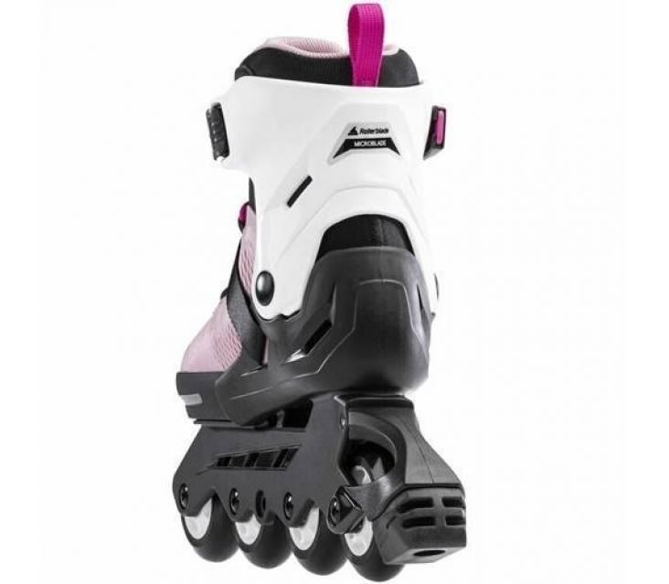 Детские ролики Rollerblade Microblade G Rosa Blanco 2021 розовые popup_1