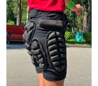 Крешпад, защитные шорты для роликов Roller синий  item_2