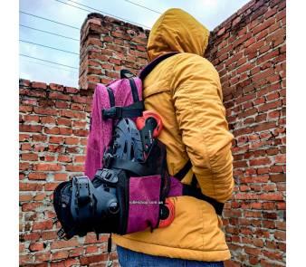Рюкзак для роликов Flying Eagle Movement Backpack розовый item_4