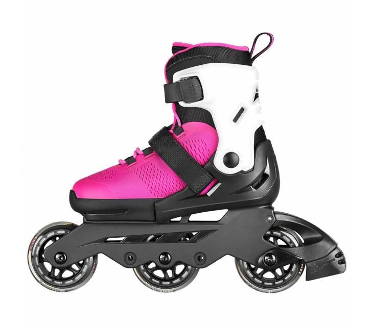Дитячі розсувні ролики Rollerblade Microblade 3Wd рожеві popup_2