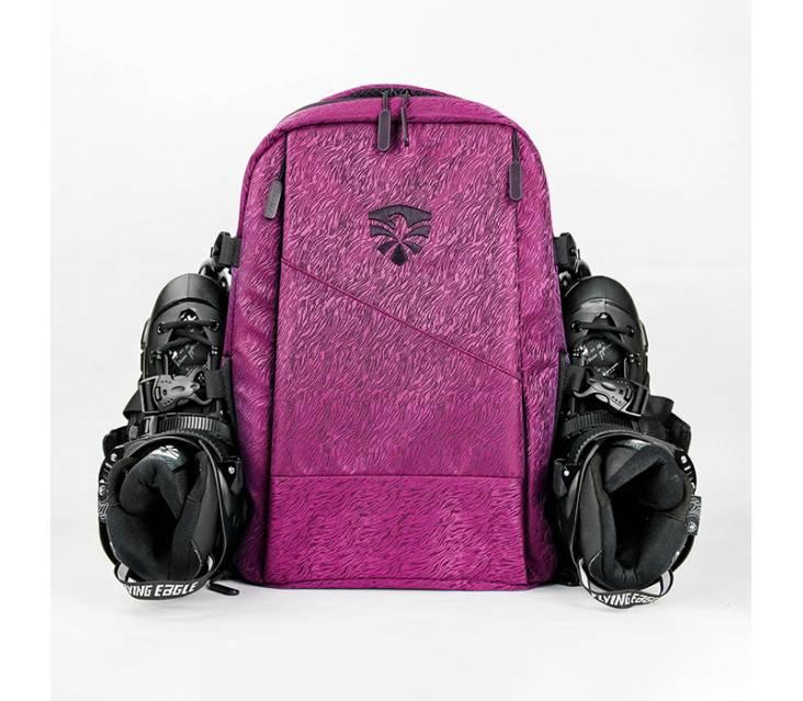 Рюкзак для роликов Flying Eagle Movement Backpack розовый popup