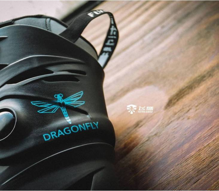 Ролики Flying Eagle Dragonfly чорні popup_4