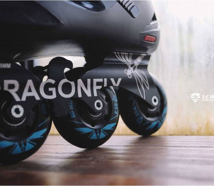 Ролики Flying Eagle Dragonfly чорні popup_3