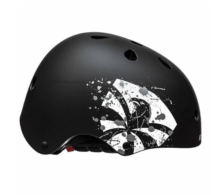 Шлем для роликов Flying Eagle Zeus черный  popup