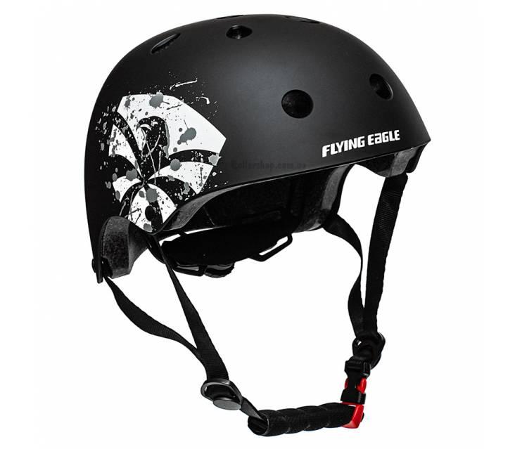 Шлем для роликов Flying Eagle Zeus черный  popup_2