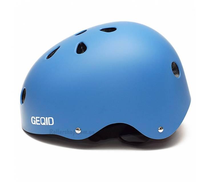Шлем для роликов Geqid Blue