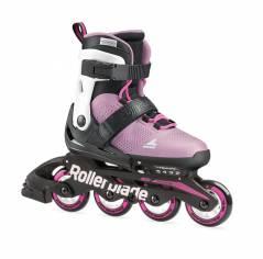 Детские ролики Rollerblade Microblade G Rosa Blanco 2021 розовые