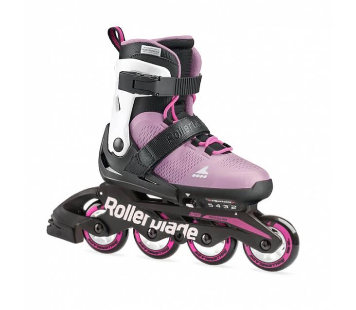 Детские ролики Rollerblade Microblade G Rosa Blanco 2021 розовые popup