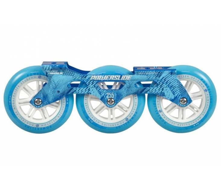 Трех колесный сет Powerslide Megacruiser 125 mm Blue
