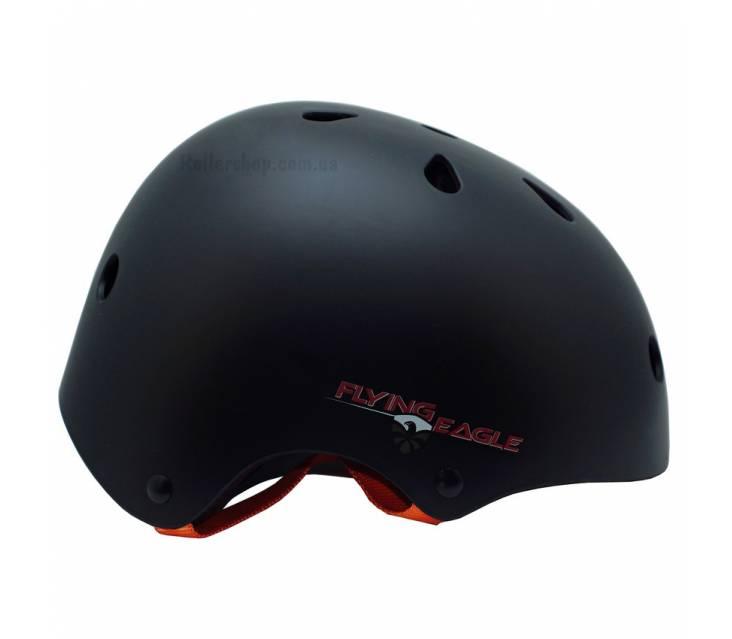 Шлем для катания на роликах Flying Eagle Pro Skate Helmet Black popup