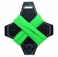 Шнурки для роликов Flying Eagle зеленые