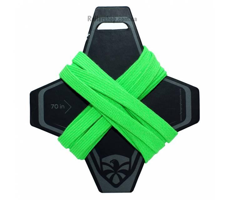 Шнурки для роликов Flying Eagle Green popup