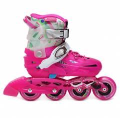 Детские раздвижные роликовые коньки Flying Eagle S6S Junior Pink