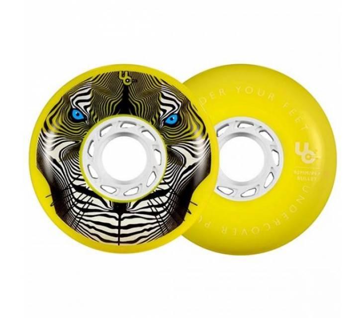 Колеса для роликов Undercover Tiger Yellow