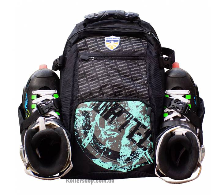 Рюкзак для роликов Flying Eagle Portech Backpack Small 2019 Green popup_1