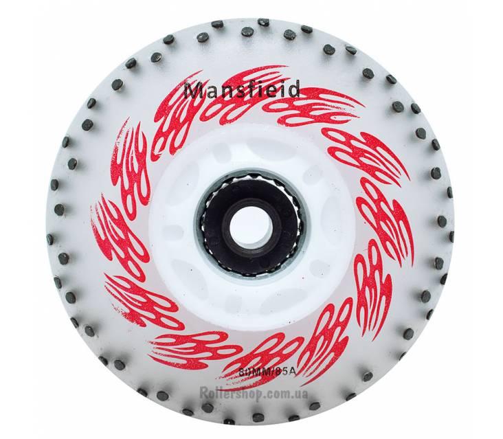 Светящиеся - искрящиеся колеса для роликов Mansfieid 104 rods image-item