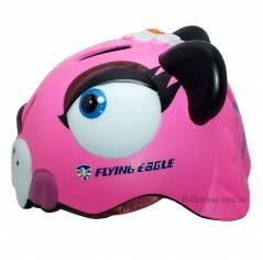 Шлем для катания на роликах Flying Eagle Zoo Panther Pink