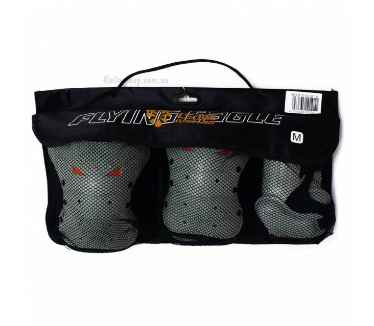 Защита для катания на роликах Flying Eagle Lobster Skate Gray