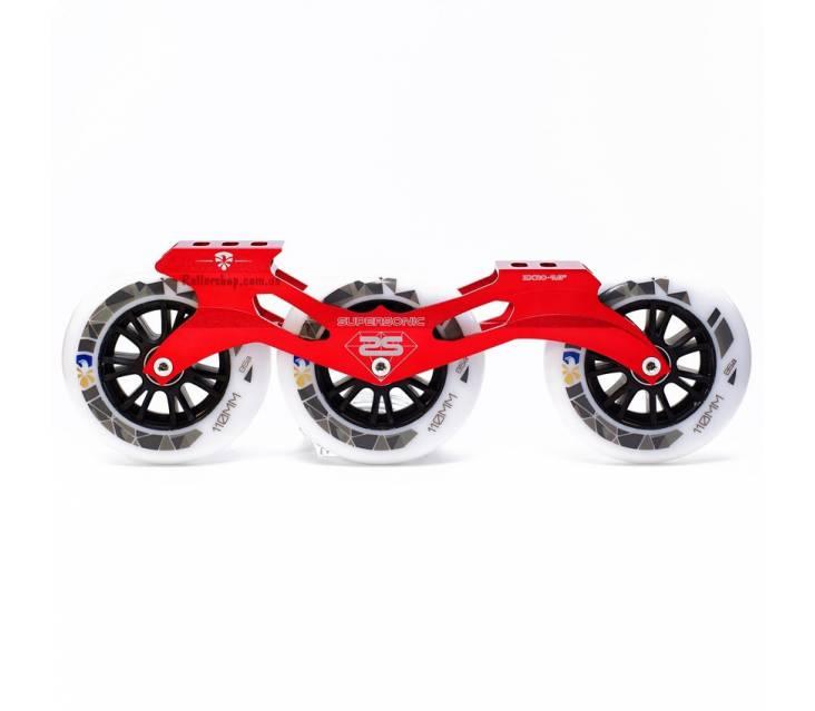 Трех колесный сет FE 110 mm 85А Red popup