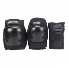 Детская защита для катания на роликах Flying Eagle Armor Black