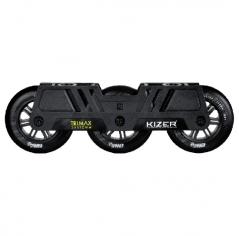 Трехколесный сет для роликов Kizer Trimax 110 mm черный
