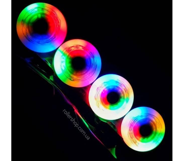 Светящиеся колеса Flying Eagle LazerwheelzСветящиеся колеса для роликов Flying Eagle Lazerwheelz Multicolor
