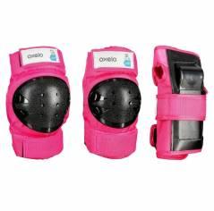Захист дитячий Oxelo Basic pink