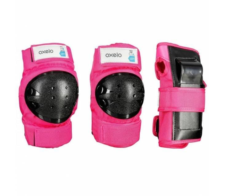 Защита детская Oxelo Basic pink popup