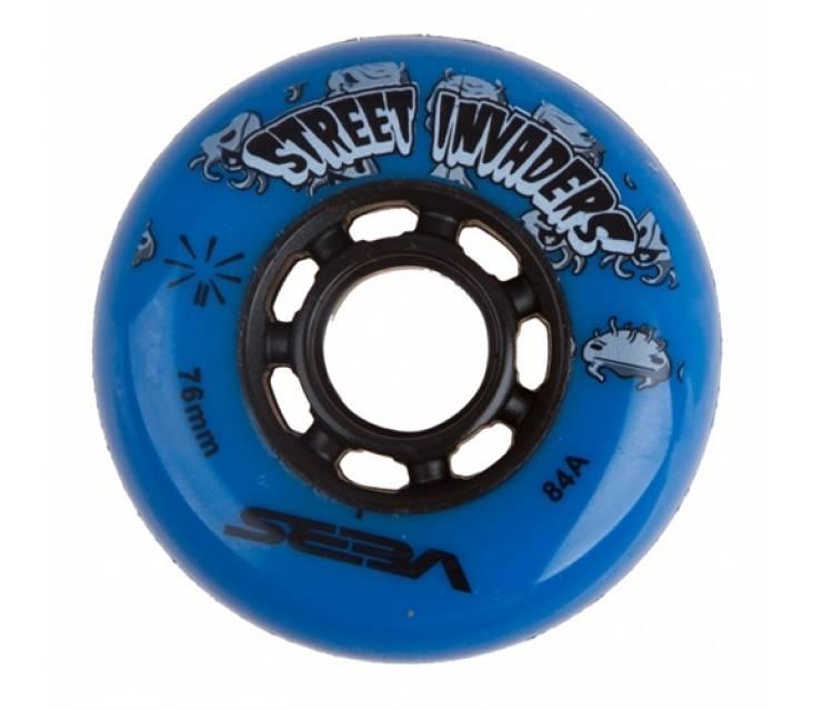 Колеса для роликов Seba Street Invaders Blue