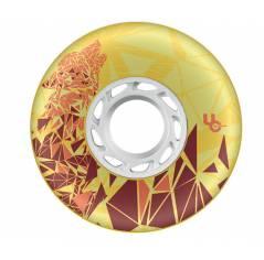 Колеса для роликов Powerslide Wolf Yellow