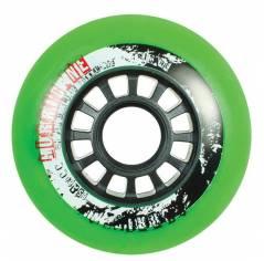 Колеса для роликовых коньков Powerslide Hurricane 85A Green