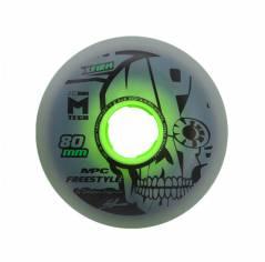 Колеса для роликов MPC Freestyle X-Firm DUAL NATURAL (80mm/86A)