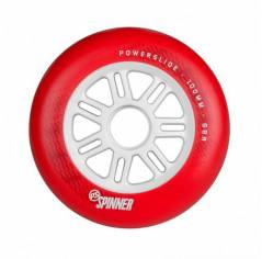 Колеса для роликовых коньков Powerslide Spinner Red 100 mm