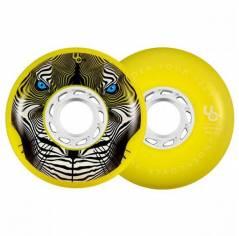 Колеса для роликов Undercover – Tiger Bullet Radius – Yellow