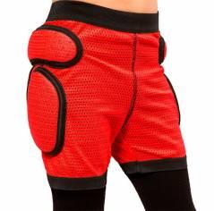 Защитные шорты детские для роликов Sport gear Red