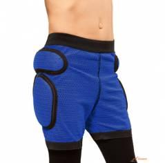 Защитные шорты детские для роликов Sport gear Blue