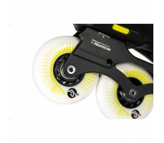 Ролики Powerslide Imperial One Black Yellow 80 item_7