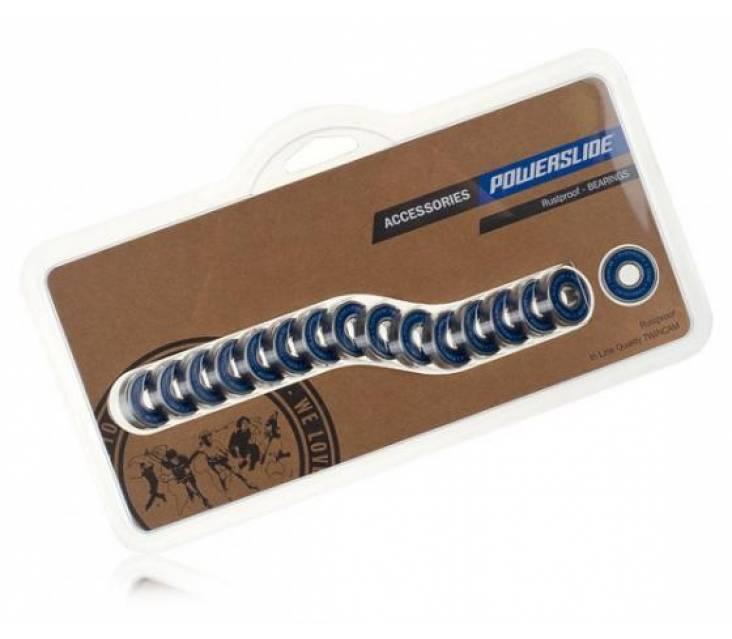 Подшипники для роликов Powerslide Twincam SUS Rustproof Bearings – 8 штук