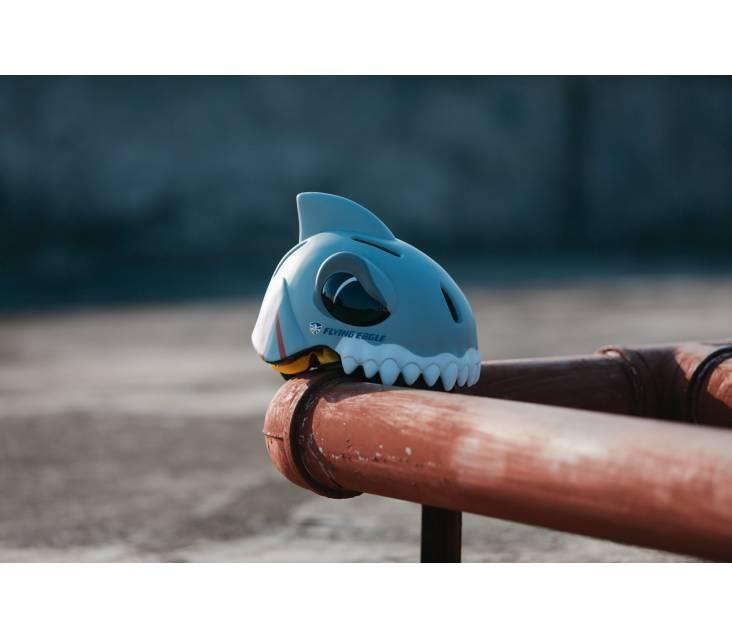 Детский шлем для роликовых коньков Flying Eagle Zoo Shark popup_5
