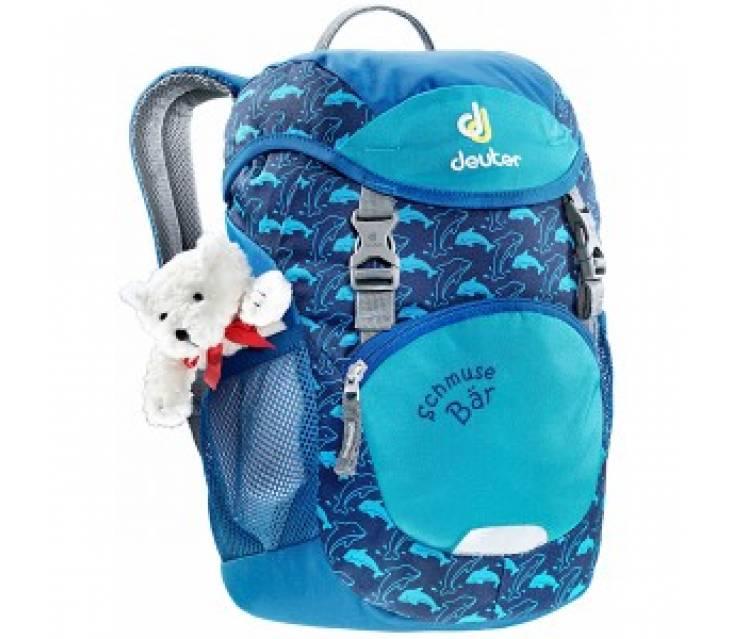Детский рюкзак для роликов  Deuter SCHMUSE BÄR Ocean popup