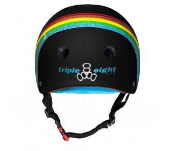 Шолом Triple8 Black Rainbow Sparkle item_1