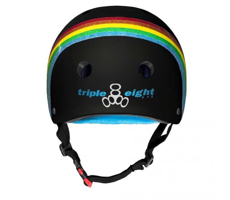 Шолом Triple8 Black Rainbow Sparkle popup_1