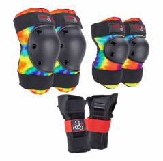 Комплект захисту Triple8 Saver Series 3-Pack Tie Dye