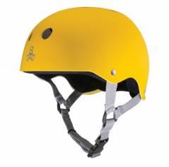 Шолом для самоката Triple8 Sweatsaver Helmet Yellow Rubber
