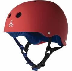 Шолом для самоката Triple8 Sweatsaver Helmet United Red